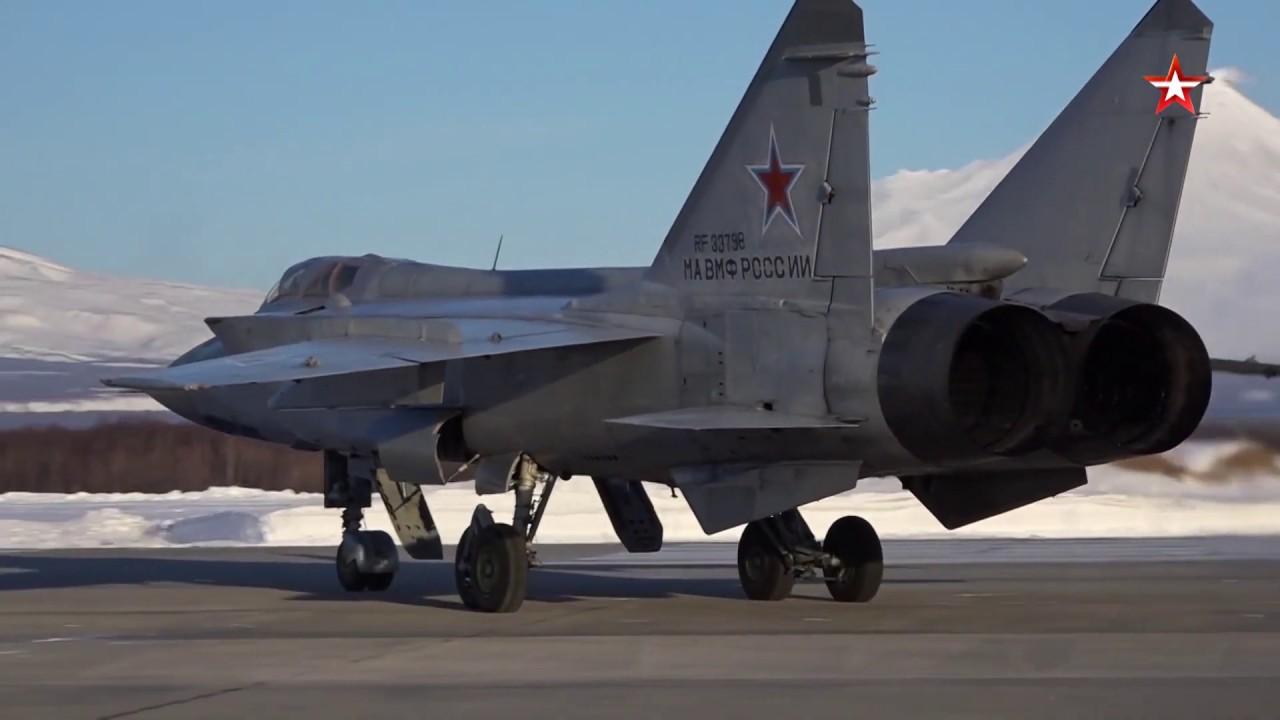 Минобороны проведет учения обновленных МиГ-31 в Арктике