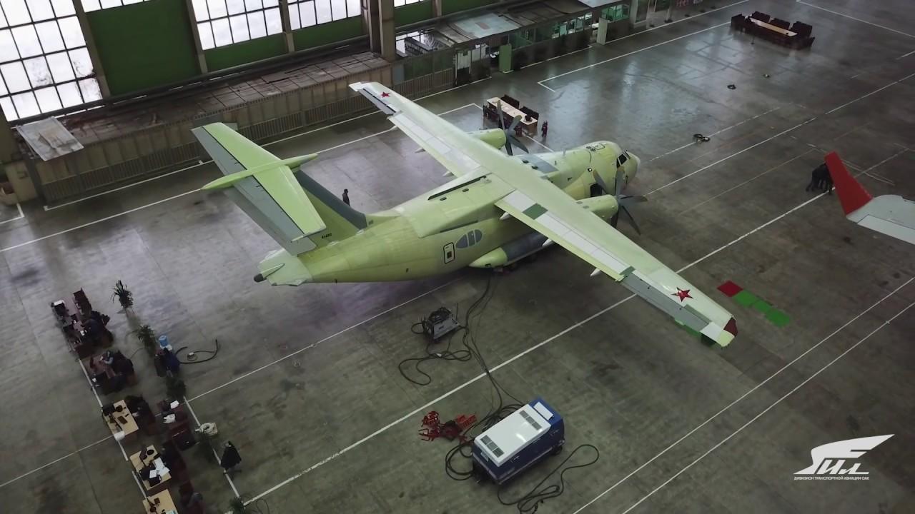 Российский Ил-112В получился лучше украинского Ан-140