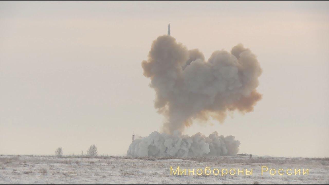 Гиперзвуковой ракетный комплекс «Авангард» успешно прошел финальные испытания