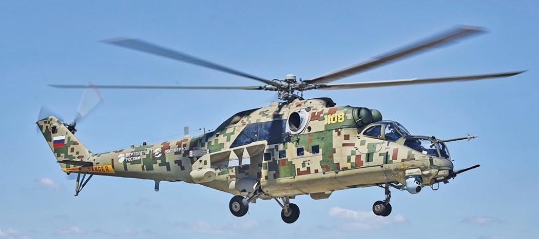 Новый цифровой вертолет «Феникс» заменит устаревшие Ми-24