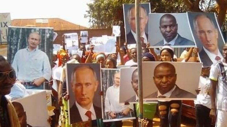 В Банги прошла демонстрация в поддержку сотрудничества ЦАР и РФ