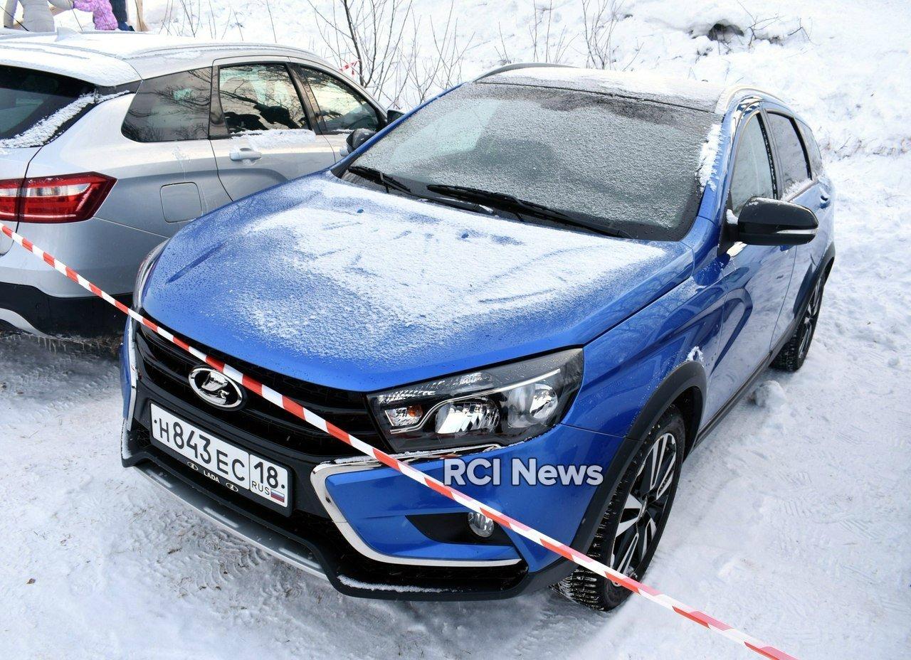 На российских дорогах замечена LADA Vesta SW Cross Exclusive