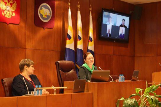 В Анадыре состоялась первая сессия Думы Чукотского автономного округа седьмого созыва