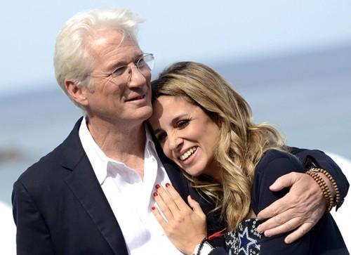Ричард Гир женился еще в апреле