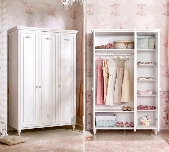 Детские шкафы для девочек – гардеробная для маленьких принцесс