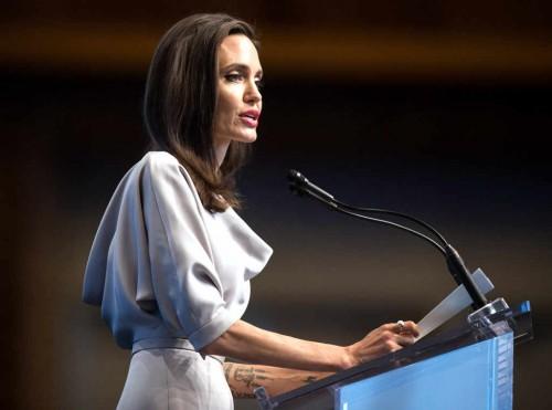 Анджелина Джоли выступила с речью против сексуального насилия