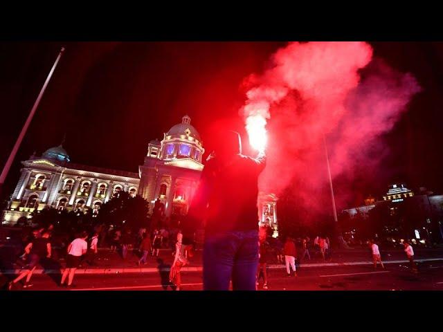 Штурмом парламента Сербии руководили из Вашингтона
