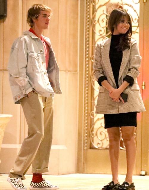 Селена Гомес и Джастин Бибер отметили День всех влюбленных в отеле
