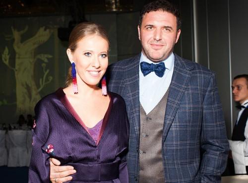 Максим Виторган признался в любви Ксении Собчак